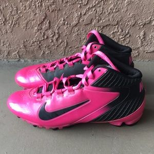 Men Nike Alpha Speed Football cleats Cancer 🎗 8.5